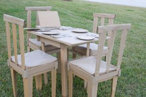 Disposable Dining Set by spaceraptor