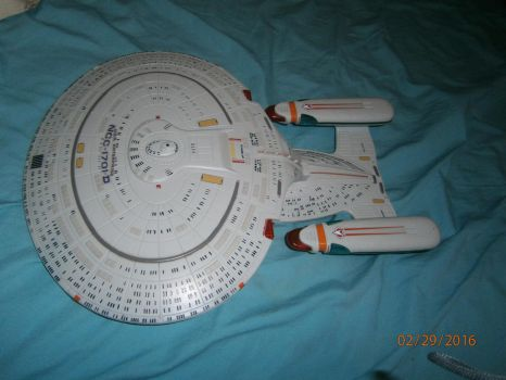 Classic Playmate USS Enterprise-D 1 by enterprisedavid