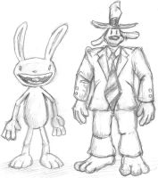 Sam and Max by nikgt