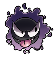 Day 14 - Gastly by Ashteritops