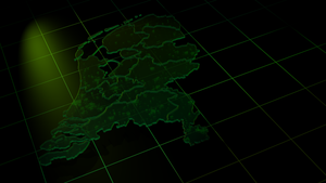 3D Netherlands Map by nftadaedalus