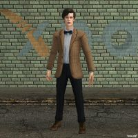 XNA Eleventh Doctor Who by X-N-A