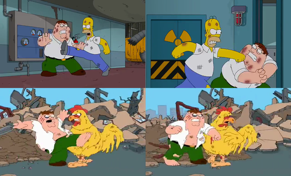 Family Guy - Peter's Fights by dlee1293847