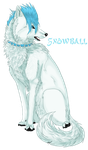 CSC: SnowBall the Wolf by soliivagant