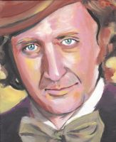 Portrait of Gene Wilder by VultureEye