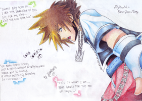 Sora - Kingdom Hearts 1 by kirendoris