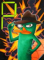 Agent P by Shaphan