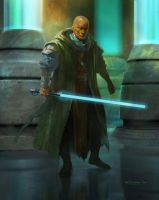 Jedi Knight by ivelin