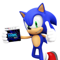 Sonic Segatenderations (Act 1) Sonic Render by NIBROCrock