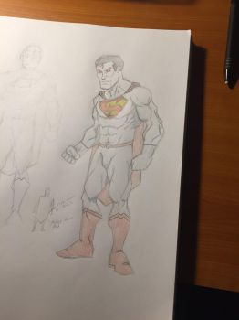 Superman by NathanWest36