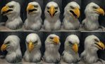 Bald Eagle 2.0 mask! by Crystumes