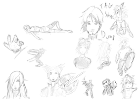 Another sketch dump by KingFromHatena