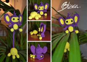 Crochet Aipom by Blisca