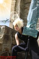 Cloud Strife by Shippudenpro28