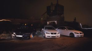 Slammed E90s 6 by BlackSelf91