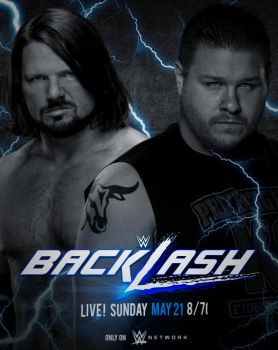 WWE Backlash 2017 poster by CRISPY6664