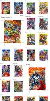 Marvel Universe Cards 1of3 by PencilInPain