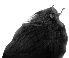 Black knight Raven by KyaroruKiniro