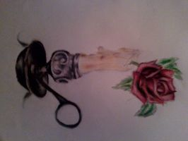 candle rose thing by Dr-Doom666