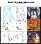 Switch Around Meme by BrownBlurry