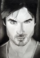 Damon Salvatore by cconnell