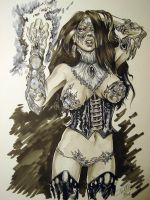 Steam Punk Witchblade By DWM by ConceptsByMiller
