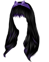 Pretty Gothic Hair by hellonlegs