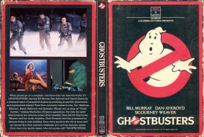 Ghostbusters DVD vintage by jhroberts