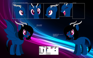 Night Flight's official reference sheet by Starlollipop