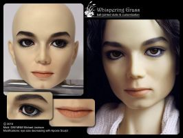DIM MNM Michael Jackson faceup commission by scargeear