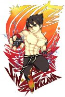 Kazama Karate t-shirt graphic by Ren-chin