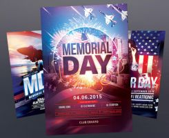 Memorial Day Flyer Bundle by styleWish