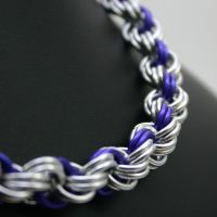 Violet Double Spiral Necklace by Utopia-Armoury