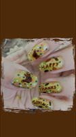 Thanks Giving Mani Lock Screen by MikariStar