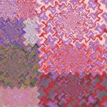 Wavy Distortion Crazy Quilt by Ampelosa