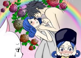 juvia_and_gray by NarutoUzmike