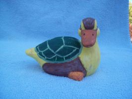 turtle duck by Fallonkyra
