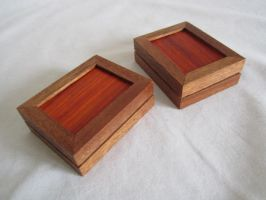 Sapele gift boxes by DMSscroller