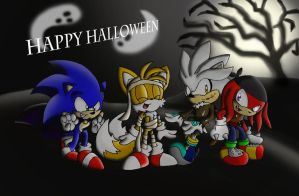 Sonic Halloween 2012 by SonicSketch