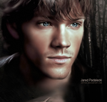 Jared Padalecki-Sam Winchester by Kot1ka