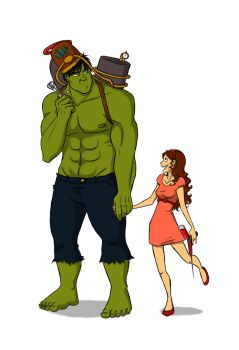 Hulk not want lame crossover by Sarniel