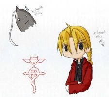 Elric Brothers X3 by darkanime13