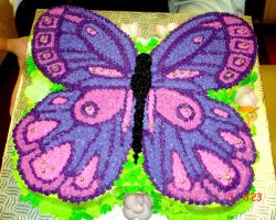 Butterfly cake 1 by buttercreamfantasies