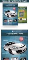 Product Promotion Flyer by snkdesigns