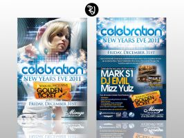 Celebration 2011 Flyer by rjartwork