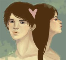 Boy + Girl by allish
