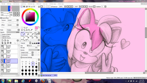 W.I.P : Can't Run Forever by ClassicAmy