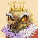 birb overlord icon by kaermter