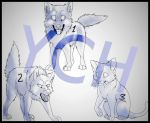 YCH chibi animals by FireMoon9