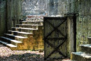 Century Old Stairs by Bawwomick